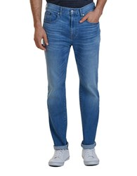 Nautica Straight Fit Washed Jeans Pure Blue