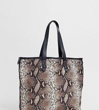 Warehouse Snake Shopper In Multi