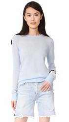 Freecity Strike Sleeve Cashmere Sweater Magical Mist