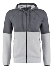 New Balance Tracksuit Top Athletic Grey Mottled Grey