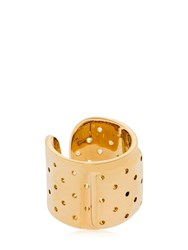 Schield Plaster Ring Gold