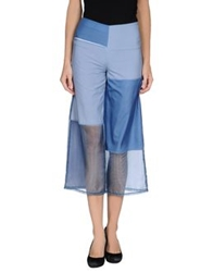 Pianurastudio 3 4 Length Shorts Azure