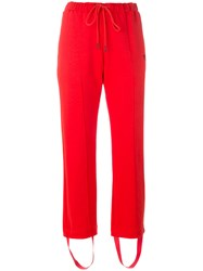 Y 3 Light Track Tight Pants Red