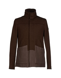 Swiss Chriss Jackets Dark Brown