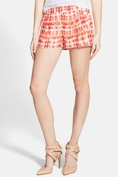 Jolt Tie Dye Shorts Juniors Orange