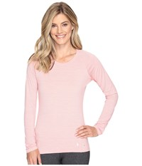 Smartwool Merino 150 Baselayer Pattern Long Sleeve Mineral Pink Women's Clothing
