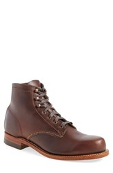 Wolverine Men's '1000 Mile' Plain Toe Boot Brown