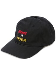 Haculla Embroidered Cap Black