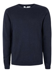 Topman Blue Navy Crew Neck Jumper
