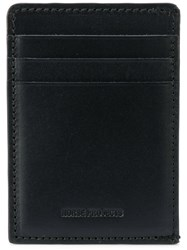 Norse Projects Card Holder Leather Black