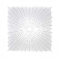 Axo Light Muse Large Square Ceiling Silver White