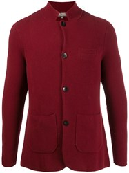 N.Peal Knitted Blazer Jacket Red