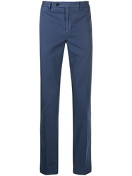 Hackett Slim Fit Chino Trousers Blue