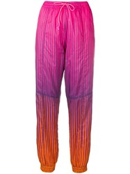 House Of Holland Drawstring Track Trousers Pink