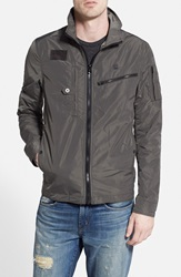 G Star 'Recolite' Lightweight Military Jacket Grey