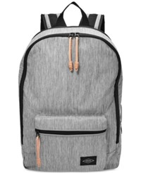 Fossil Men's Estate Fabric Backpack Grey