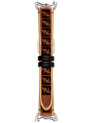 Fendi Selleria Strap Brown