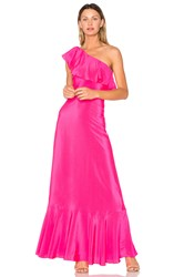 Amanda Uprichard Sedona Maxi Dress Fuchsia