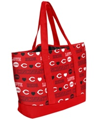 Forever Collectibles Cincinnati Reds Tote Bag