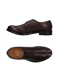 Eleventy Lace Up Shoes Cocoa