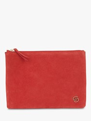 Gerard Darel Leather Pocket Pouch Red