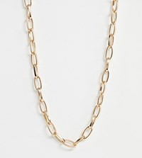 Glamorous Gold Chunky Chain Necklace