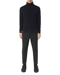 Allsaints Rothay Funnel Neck Sweater Ink Navy