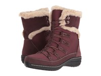 Aetrex Berries Short Lace Up Boot Cranberry Women's Cold Weather Boots Red