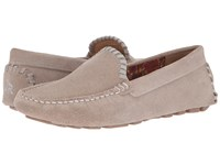 Jack Rogers Taylor Suede Dove Grey Women's Flat Shoes Gray
