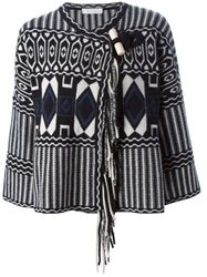 Chloe Chloe Toggle Fastening Cardigan Black