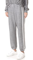 Wildfox Couture Easy Sweatpants Heather Burnout