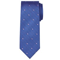 Chester Barrie By Spot Silk Tie Blue Pink