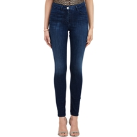 3X1 High Rise Skinny Jeans Blue
