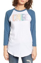 Converse Women's Overlap Embroidery Tee