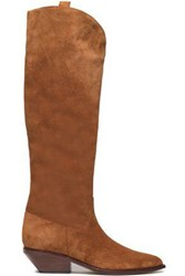Sigerson Morrison Leather Boots Light Brown