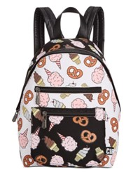 Sam Edelman Circus By Carnival Backpack White Black Carnival