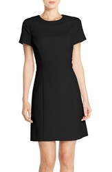 Women's Marc New York Stretch Fit And Flare Dress Black