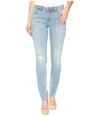 Blank Nyc Washed Out Skinny Classique In Silent Shout Silent Shout Women's Jeans Blue