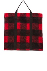 Etoile Isabel Marant Isabel Marant Etoile Rusty Check Bag In Red Checkered And Plaid