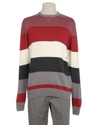 Billabong Crewneck Sweaters Maroon