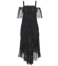 Philosophy Di Lorenzo Serafini Asymmetrical Lace Dress Black