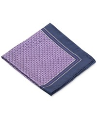 Ryan Seacrest Distinction Broken Arrow Pocket Square Purple