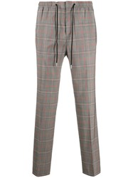 Zadig And Voltaire Perou Checked Straight Leg Trousers 60