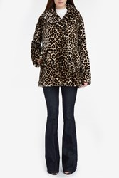 A.L.C. Women S Stone Leopard Coat Boutique1