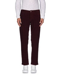 Re Hash Trousers Casual Trousers Men Maroon