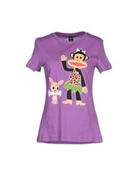 Paul Frank T Shirts Purple