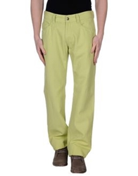 Versace Collection Casual Pants Light Green