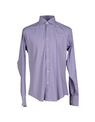 Brian Dales Shirts Shirts Men Purple