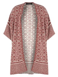 Dorothy Perkins Knitted Tile Print Blanket Wrap