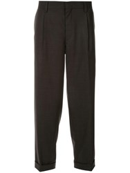 Kolor Slim Fit Tailored Trousers Grey